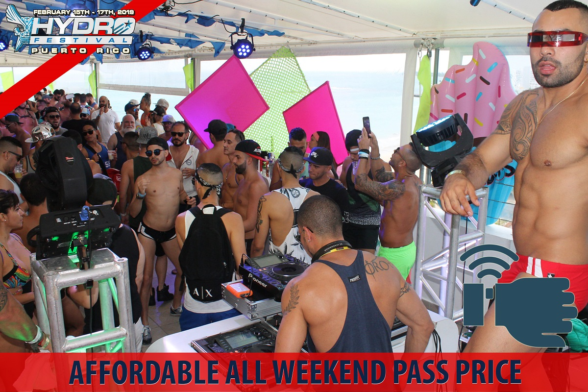 04. Affordable All Weekend Pass Price